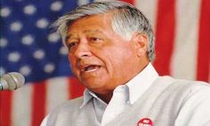 "I wrote this in honor of one of my personal heroes for his birthday, Cesar Chavez Day, ""Why Cesar Chavez Deserves a National Holiday"""