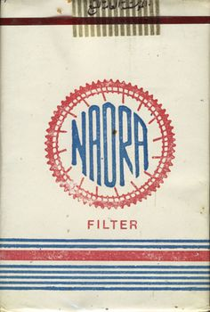 Naora Filter - Sold in Syria 1980's