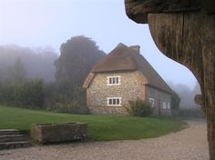 Cottages at the Weald and Downland Museum, Singleton, Sussex