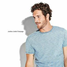 Just... ....in Blue Hair, Brown Hair, Justice Joslin, Canadian Football League, Fifty Shades Movie, Christian Grey, Model Agency, Football Players, Mens Fashion