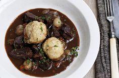 James Martin's beef stew with dumplings recipe - goodtoknow