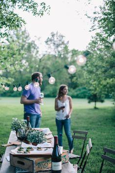 bellesandghosts: Summer Vineyard Party | Earnest Home Co.