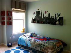 Super Hero Themed Room | Superhero Themed Boy's Room | A Decorator's Journey