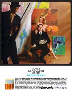 Publicité Ferrania 1965