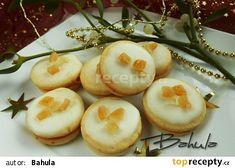Pomerančové dortíčky recept - TopRecepty.cz Christmas Cookies, Sushi, Garlic, Coconut, Baking, Fruit, Vegetables, Breakfast, Ethnic Recipes