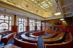 Blackpool Town Hall Chambers Blackpool Lancashire England UK [OC][5182x3454] Click the photo to see more!