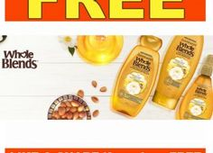 Request your FREE Garnier Whole Blends,Fructis Damage Eraser and Growstrong Haircare Products Now- Go!!!
