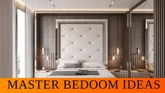 Master Bedroom Decor Ideas | Interior design Styling & Furnishing