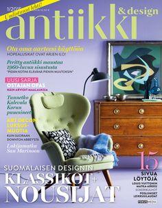 Antiikki & Design 1/2015. Photo Kristiina Hemminki / Fotonokka, styling Irene Wichmann.