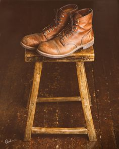 My Red Wings | Red Wing Heritage Iron Ranger Boot #redwingheritage #myredwings @redwingheritage
