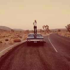 Living in the desert △ @nomadicsocial