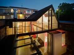 The Vader House was designed by Melbourne-based Andrew Maynard Architects. The project consisted of a renovation to an existing Victorian terrace house in Home Architecture Styles, Interior Architecture, Interior Design, Simple Interior, Residential Architecture, Amazing Architecture, Modern Interior, Interior Decorating, Victorian Terrace
