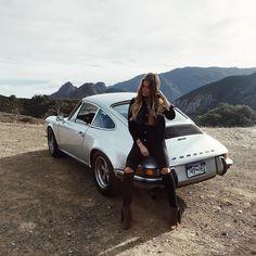 """spiriteddrivemagazine:  """"One more for ya #bts #Porsche #911T"""" by @candiceloraine_ on Instagram http://ift.tt/1OXX6Vd"""