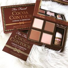 Afbeelding via We Heart It #chocolate #contour #glamour #luxury #makeup #bronzer #toofaced