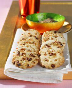 Friesische Kandis-Kekse | Kalorien: 41 Kcal - Zeit: 1 Std. 30 Min. | http://eatsmarter.de/rezepte/friesische-kandis-kekse