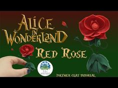 The Orchestra Leader Red Rose from Alice in Wonderland - Polymer Clay Tutorial - YouTube
