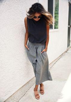 10 Ways to Wear Culottes