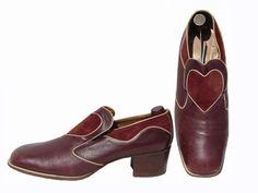 1970s Fratelli leather shoes -  Courtesy of poppysvintageclothing