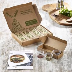 Four Month/16 Meal Recipe Discovery Kit Subscription from notonthehighstreet.com