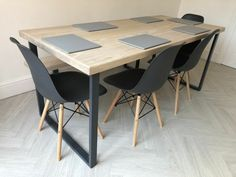 2 x table bench legs designer metal steel industrial table legs bench legs retro Furniture Legs, Cabinet Furniture, Breakfast Bar Legs, Dining Table Chairs, Table Bench, Industrial Table Legs, Steel Table Legs, Bench Legs, Retro