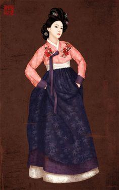 미인도_한복의 자태미인도입니다. 한복의 아름다움을 많은 사람들이 공감하길 바라는 마음으로 그렸던 그림이네요  미인도입니다. 한복의 아름다움을 많은 사람들이 공감하길 바라는 마음으로 그렸던 그림이네요