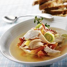 Dansk kyllingesuppe