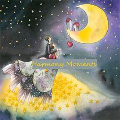 G216 - Měsíční láska, 14x14, 53,-Kč