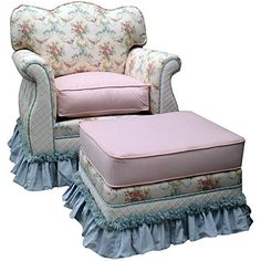 This was the inspiration for the chairs and couch I covered.