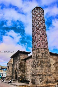 Erzurum - Yakutiye camii Religious Architecture, Islamic Architecture, Art And Architecture, Cappadocia, Turkish Art, Islamic Art, India Travel, Pisa, Istanbul