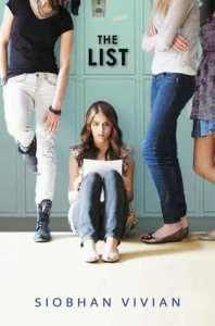 The List by Siobhan Vivian and how it connects with gender issues/expectations.
