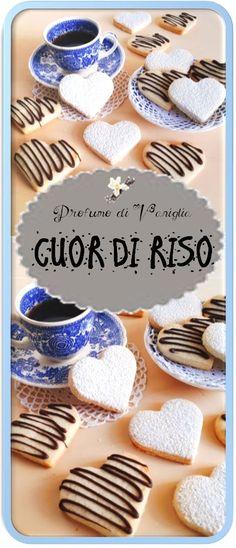 I biscottini cuor di riso sono dei dolcetti leggeri, naturalmente senza glutine, friabili e non eccessivamente dolci.