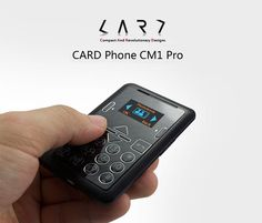 [Credit Card Sized] Genuine Extremely Slim Card Phone Black price, review and buy in UAE, Dubai, Abu Dhabi | Souq.com