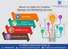Devsons helps you to display your brand with its signage and marketing service.