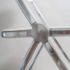 Plia Chair Detail Giancarlo Piretti for Anonima Castelli 1969