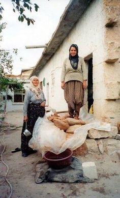 Stomping the Grapes to Make Pekmez, Uchisar- Cappadocia by Paula Maria Knauer