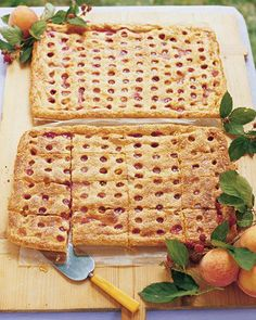 Peach Raspberry Slab Pie Recipe