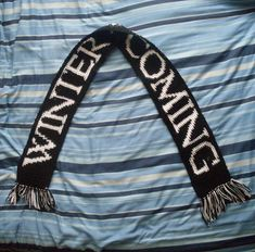 Crochet Gifts for Men - Game of Thrones Scarf