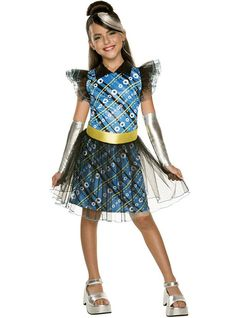Costume Frankie Stein deluxe fille