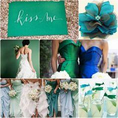 Emerald Green Bridesmaid Dresses | Top 6 Fall Wedding Color Combinations & Bridesmaid Dresses Trends ...