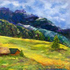 Swiss Schwisch II - 18x24 Oil on Gallery Wrap