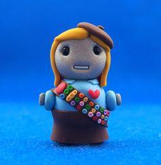 Girl Scout Bot by jennandtonybot on Etsy