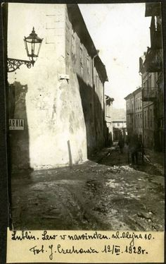 Lublin 1928 Poland Old Pictures, Old Photos, Visit Poland, My Kind Of Town, Historical Images, Art And Architecture, Places To Visit, Old Things, Landscape
