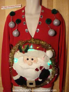 Wow, this is a really Ugly sweater...