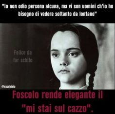 53 ideas humor wednesday funny smile for 2019 Funny Images, Funny Photos, Maybe Meme, Wednesday Humor, Wednesday Addams, Italian Memes, Adams Family, I Hate My Life, Sarcasm Humor