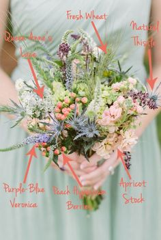 FiftyFlowers Wildflower Bouquet Breakdown