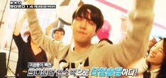 Baekhyun's partying hard