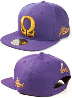 Greek Fraternity Snap-Back Cap Tuskegee Airmen, Omega Psi Phi, African American Art, Fraternity, Greek, Thing 1, Cap, Purple, Leather