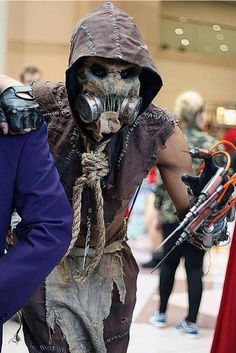 Awesome Arkham scarecrow costume!