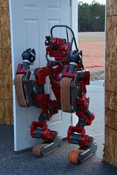 The robots will need to open doors