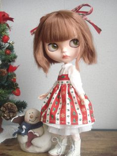◆ ブライスちゃん Outfit   ホワイトクリスマスセット  12点 ◆_画像3